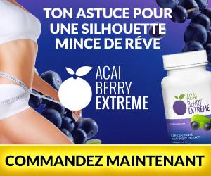 Acai Berry Extreme - baies d'açai