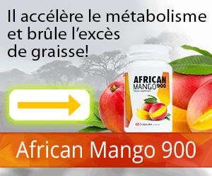 AfricanMango900 - perte de poids